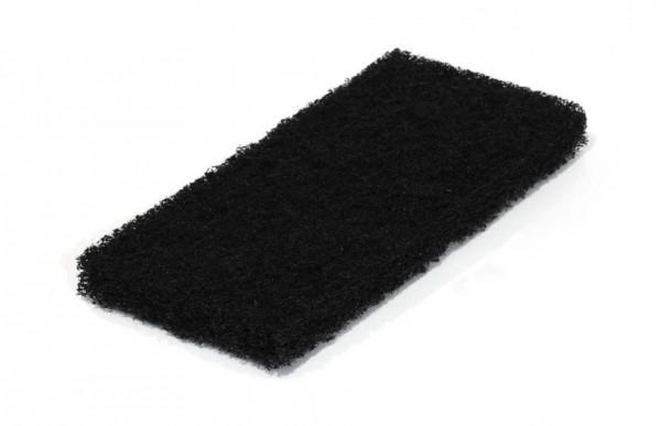 Schwarzes Super Reinigungspad 25 cm