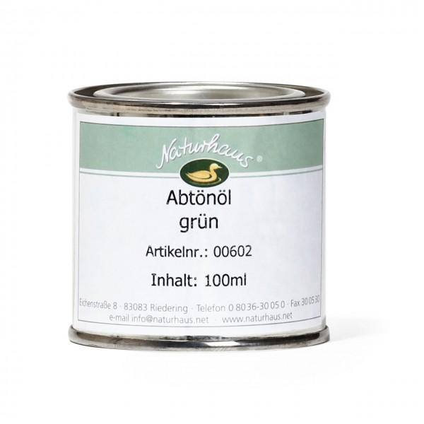 Farbkonzentrat für Öle (Abtönöl) Grün