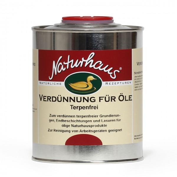 Verdünnung für Öle