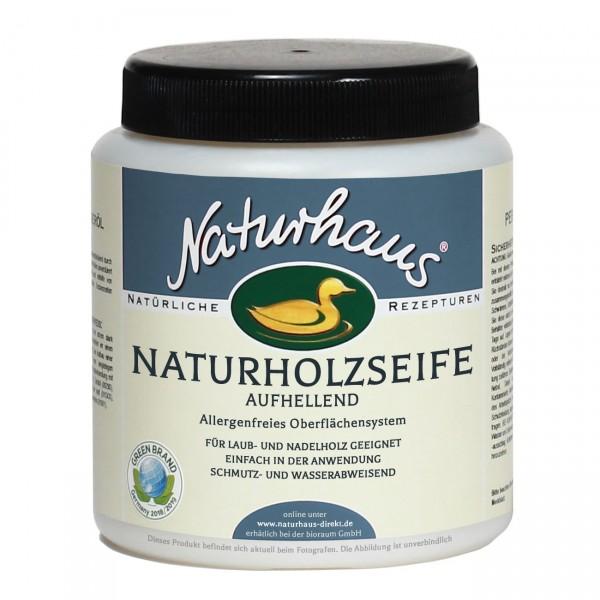 Naturholz-Seife aufhellend