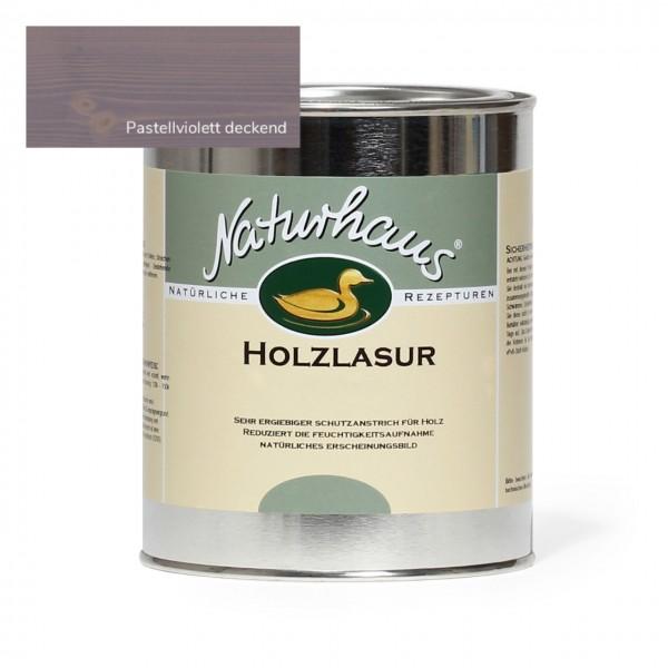 Holzlasur für Außen Pastellviolett deckend