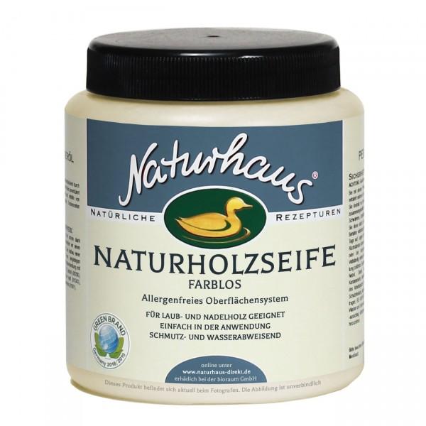 Naturholz-Seife farblos